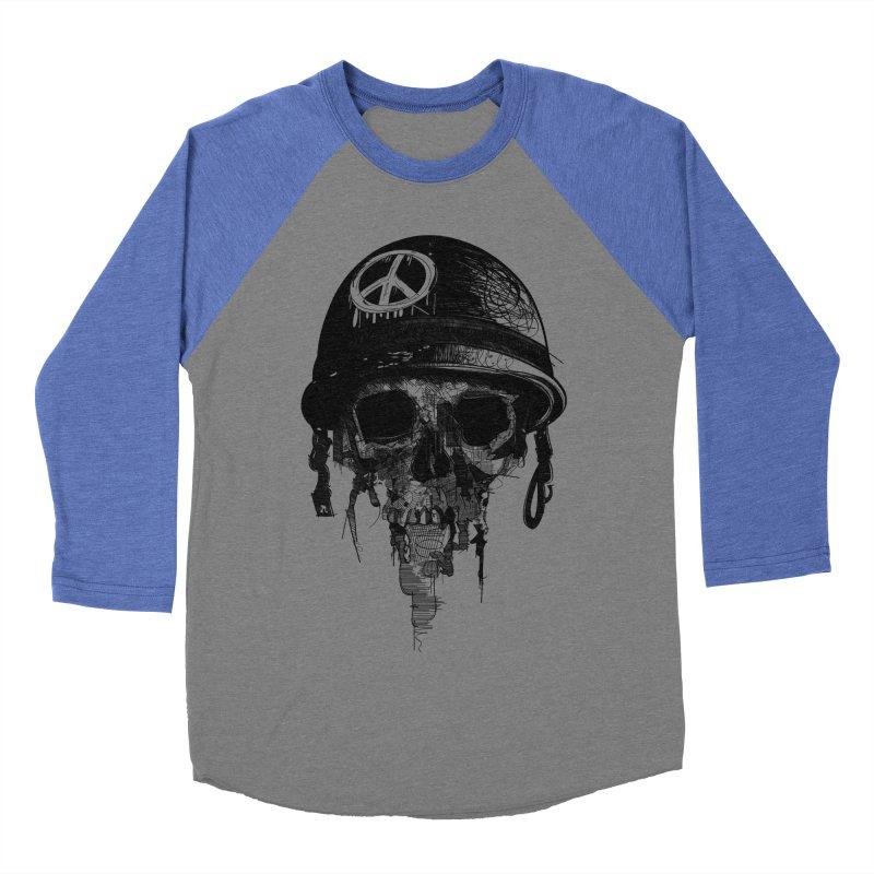 Peace Out Women's Baseball Triblend T-Shirt by udegbunamtbj's Artist Shop