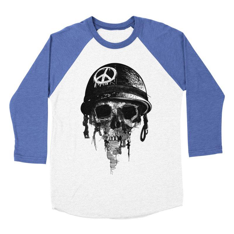 Peace Out Men's Baseball Triblend T-Shirt by udegbunamtbj's Artist Shop