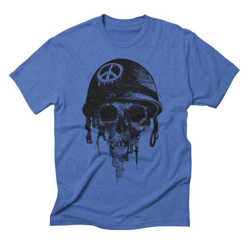 Peace Out Men's Triblend T-shirt by udegbunamtbj's Artist Shop