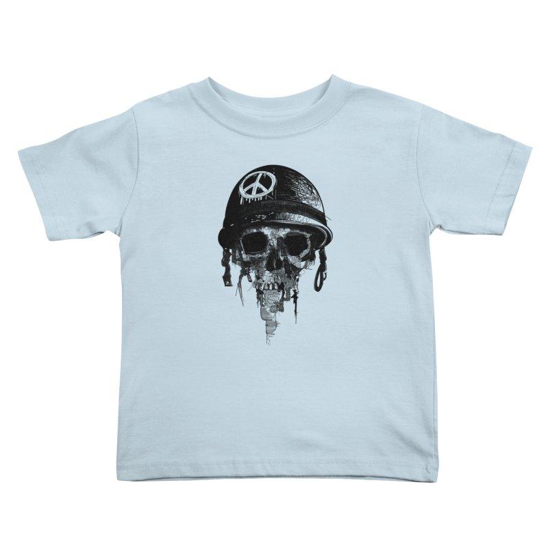 Peace Out Kids Toddler T-Shirt by udegbunamtbj's Artist Shop