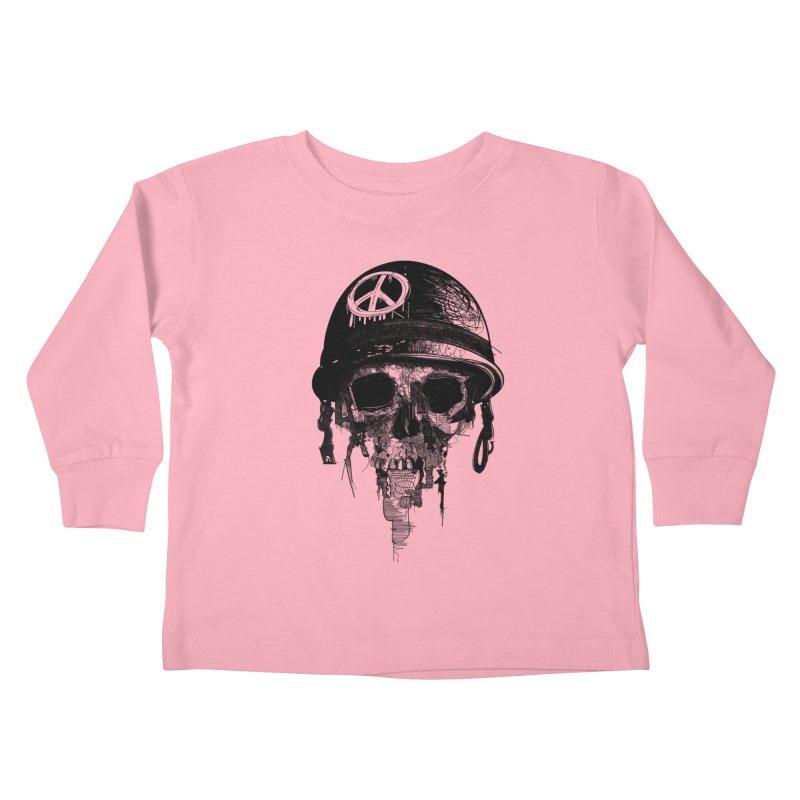 Peace Out Kids Toddler Longsleeve T-Shirt by udegbunamtbj's Artist Shop