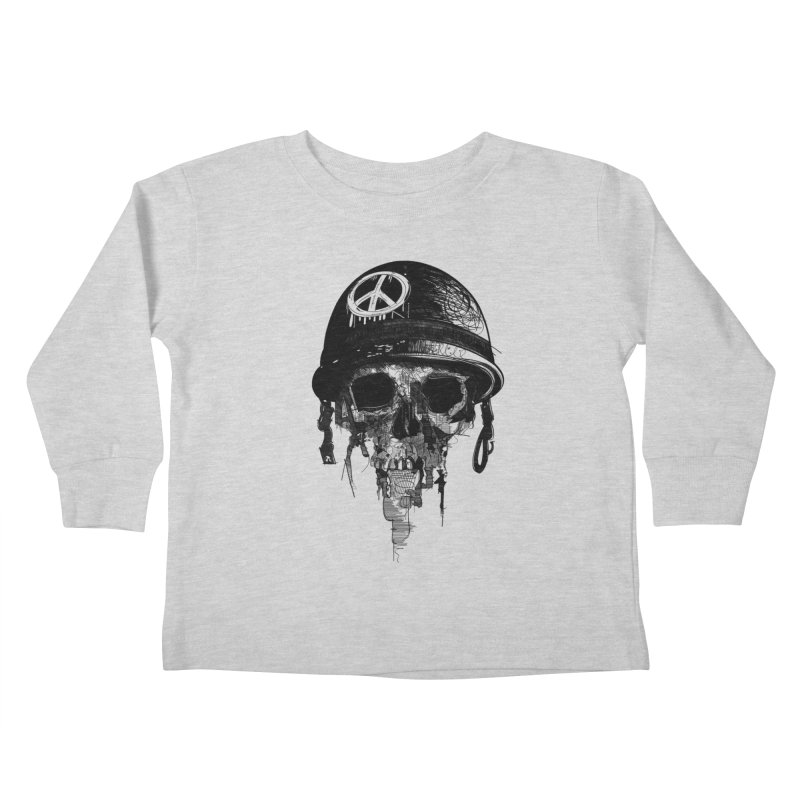 Peace Out Kids Toddler Longsleeve T-Shirt by udegbunamtbj's Artist Shop