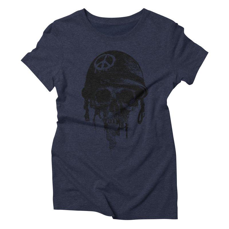Peace Out Women's Triblend T-Shirt by udegbunamtbj's Artist Shop