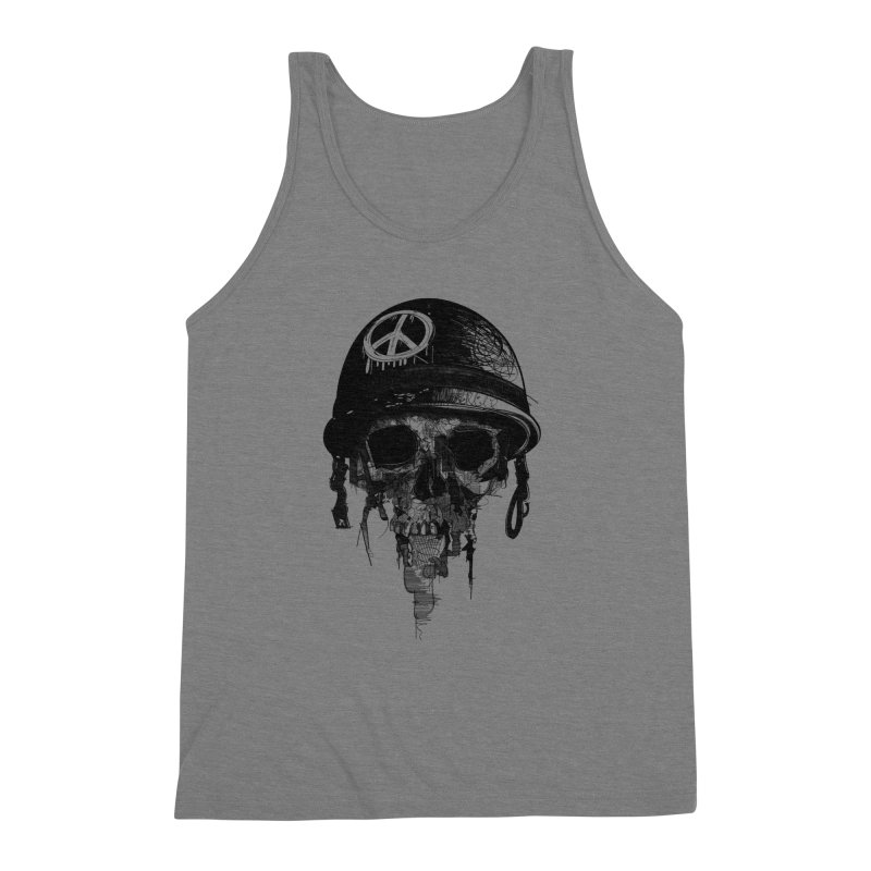 Peace Out Men's Triblend Tank by udegbunamtbj's Artist Shop