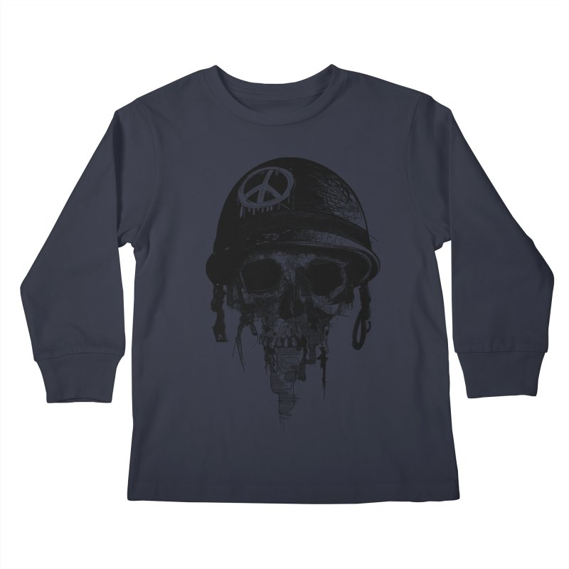 Peace Out Kids Longsleeve T-Shirt by udegbunamtbj's Artist Shop