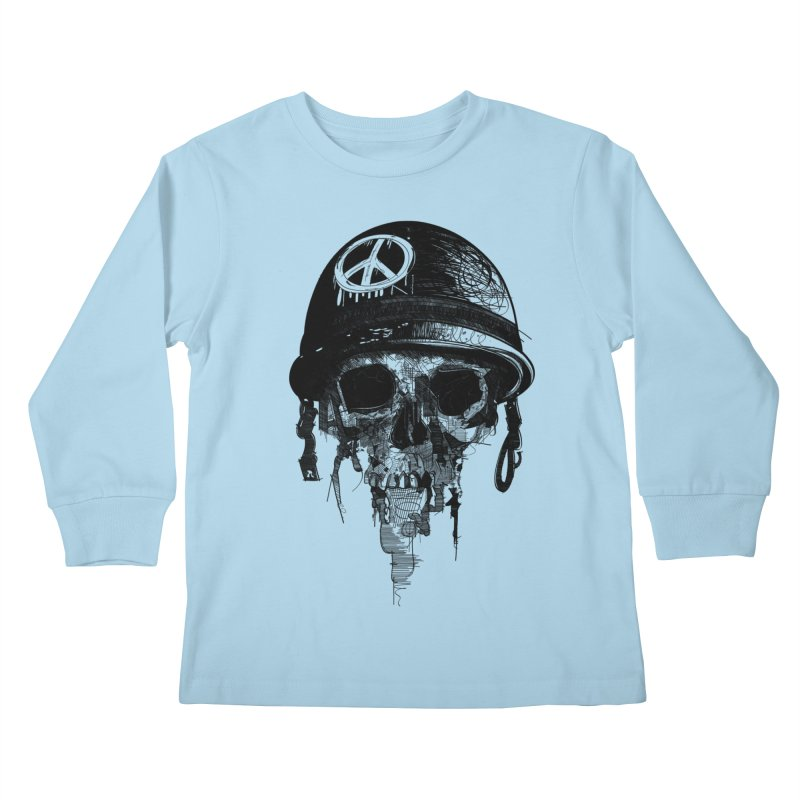 Peace Out Kids Longsleeve T-Shirt by udegbunamtbj's Artist Shop
