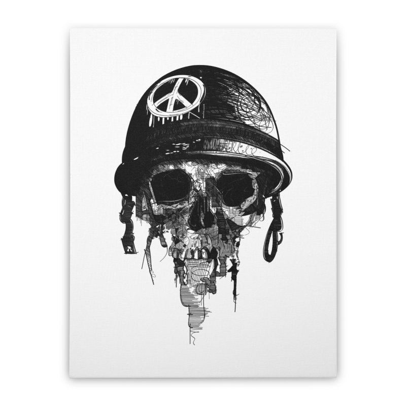 Peace Out Home Stretched Canvas by udegbunamtbj's Artist Shop
