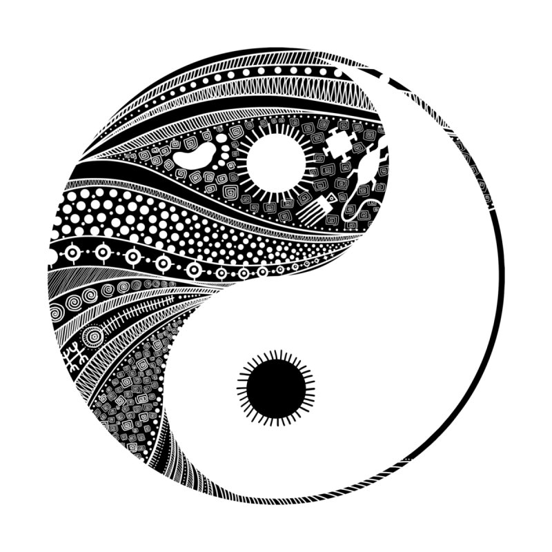 Ying Yang None  by udegbunamtbj's Artist Shop