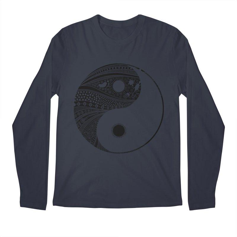 Ying Yang Men's Longsleeve T-Shirt by udegbunamtbj's Artist Shop