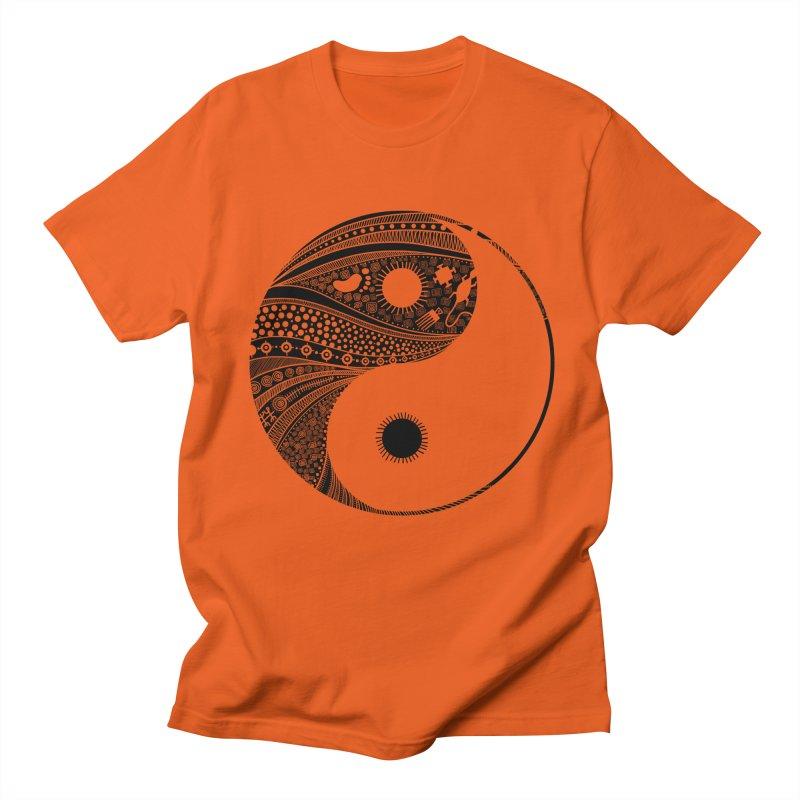 Ying Yang Men's T-shirt by udegbunamtbj's Artist Shop