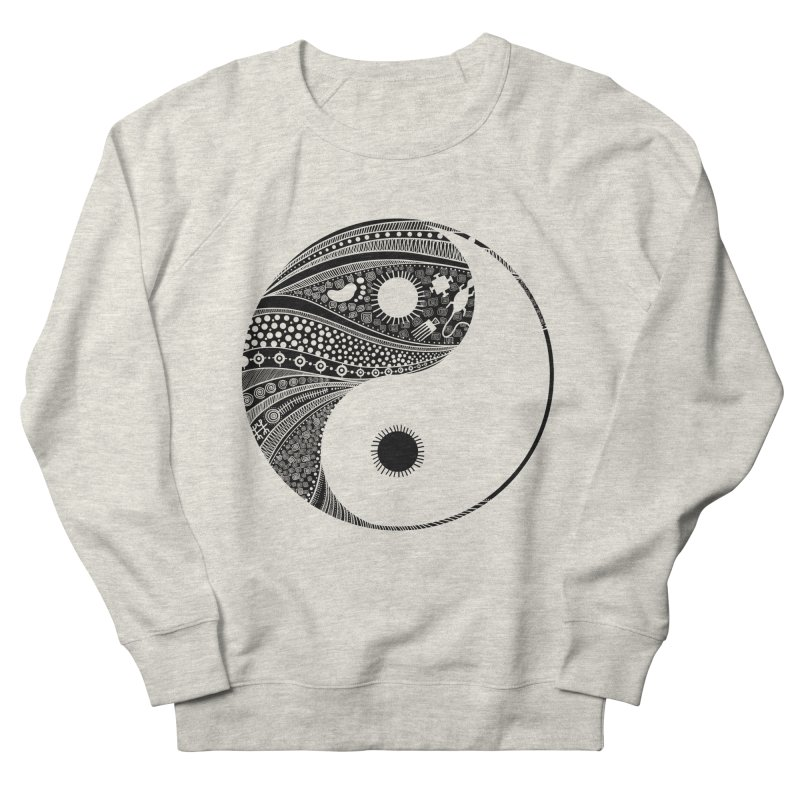 Ying Yang Women's Sweatshirt by udegbunamtbj's Artist Shop