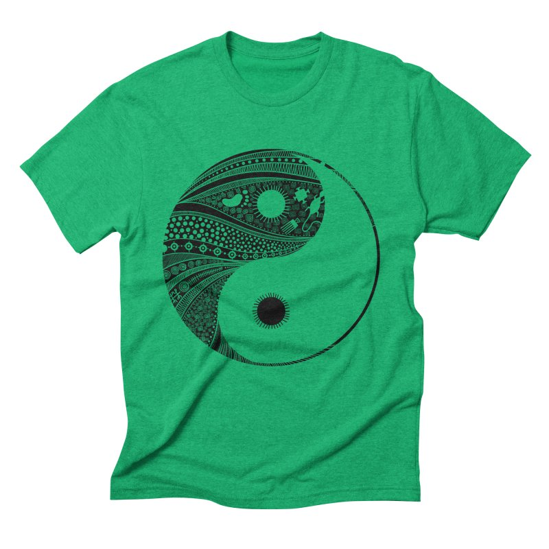 Ying Yang Men's Triblend T-Shirt by udegbunamtbj's Artist Shop
