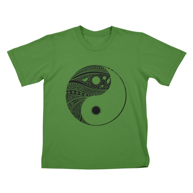 Ying Yang Kids T-shirt by udegbunamtbj's Artist Shop