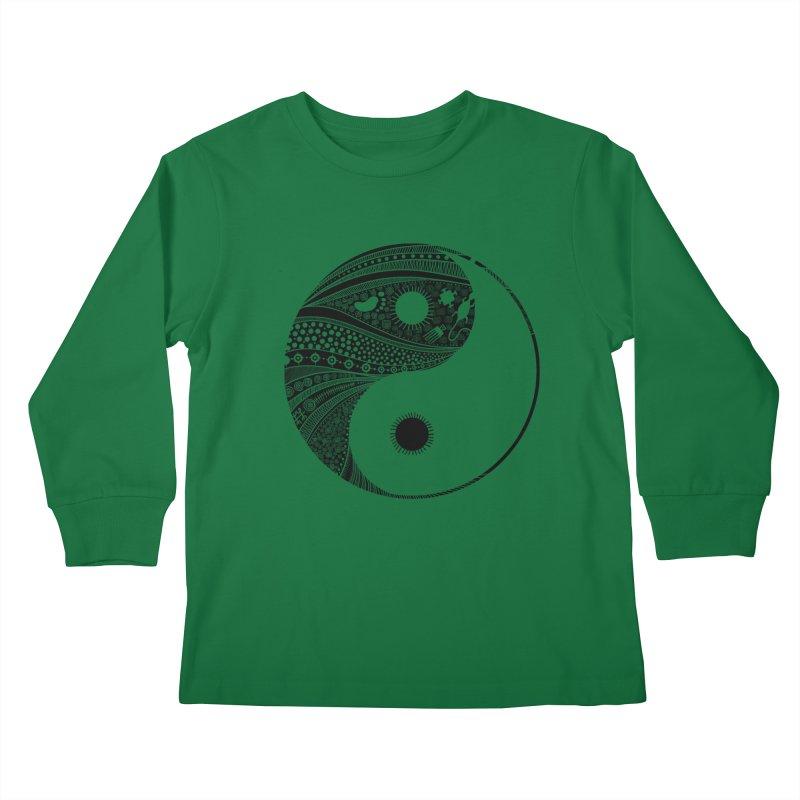 Ying Yang Kids Longsleeve T-Shirt by udegbunamtbj's Artist Shop