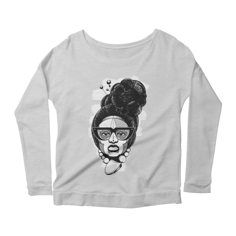 Raw Sugar Women's Longsleeve Scoopneck  by udegbunamtbj's Artist Shop