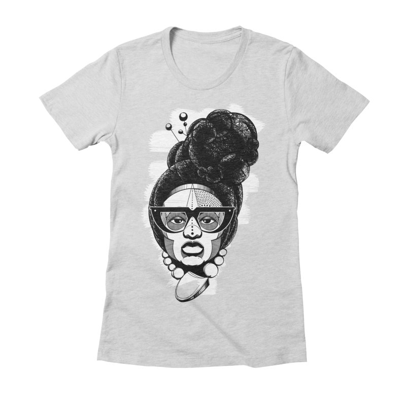 Raw Sugar Women's Fitted T-Shirt by udegbunamtbj's Artist Shop