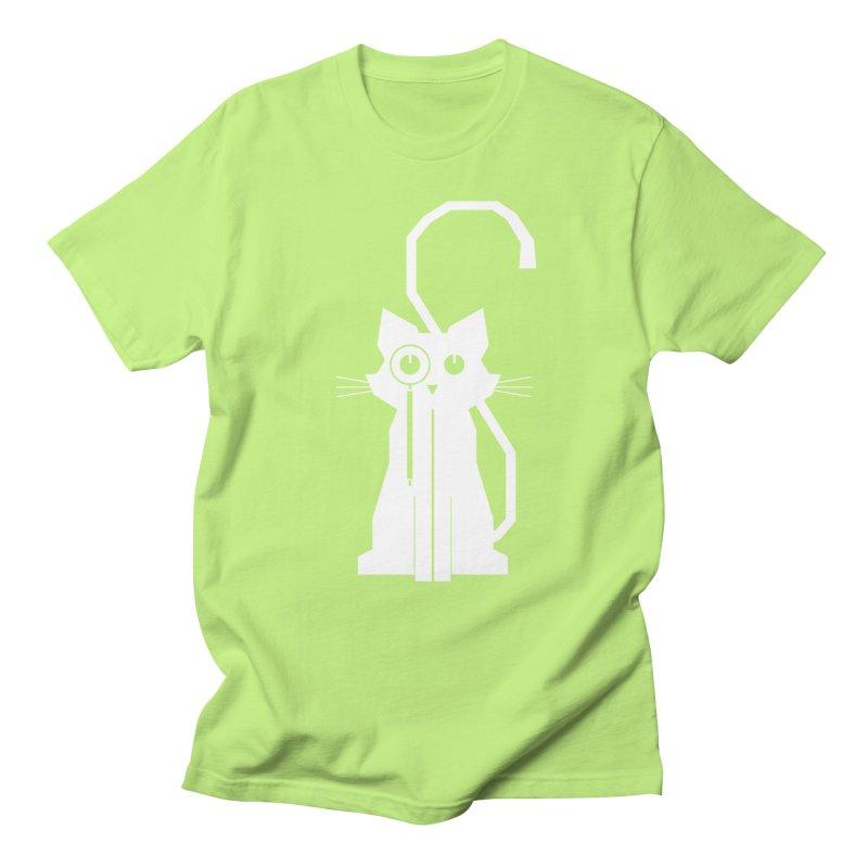 Smart Cat Men's T-shirt by udegbunamtbj's Artist Shop