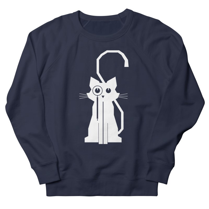 Smart Cat Men's Sweatshirt by udegbunamtbj's Artist Shop