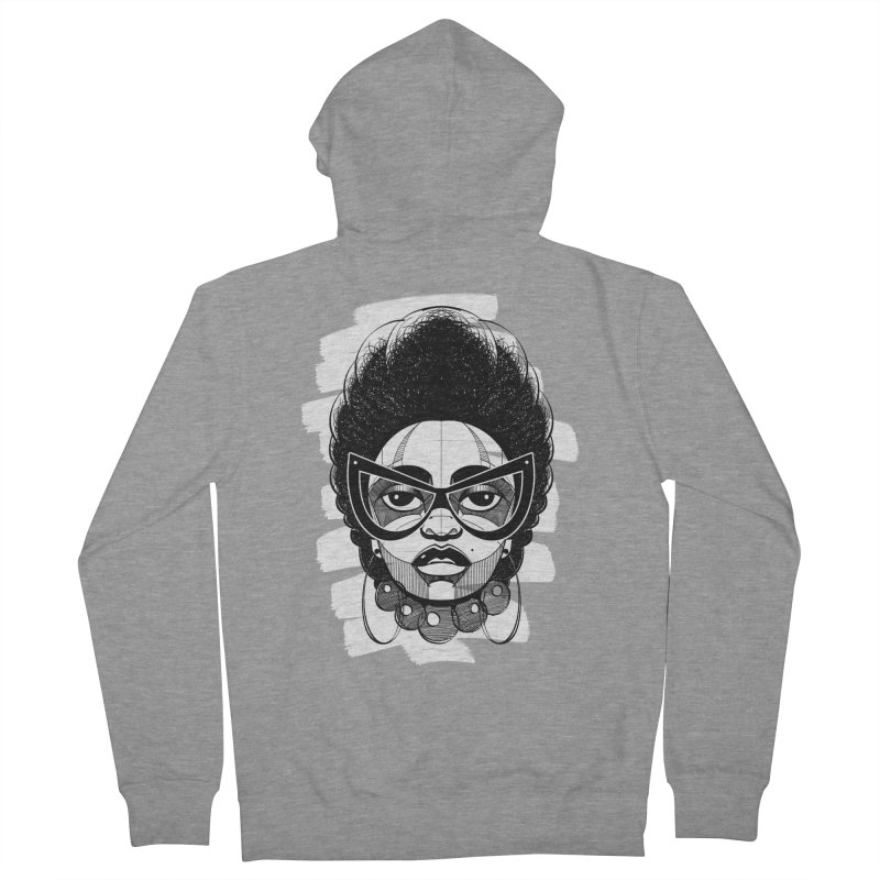 Indigo Women's Zip-Up Hoody by udegbunamtbj's Artist Shop