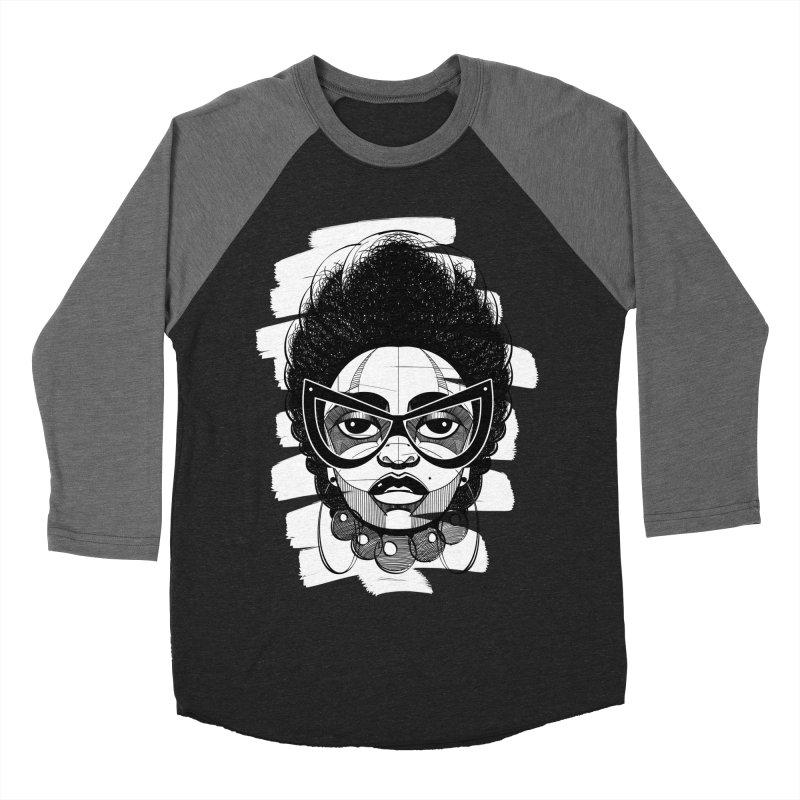 Indigo Women's Baseball Triblend T-Shirt by udegbunamtbj's Artist Shop