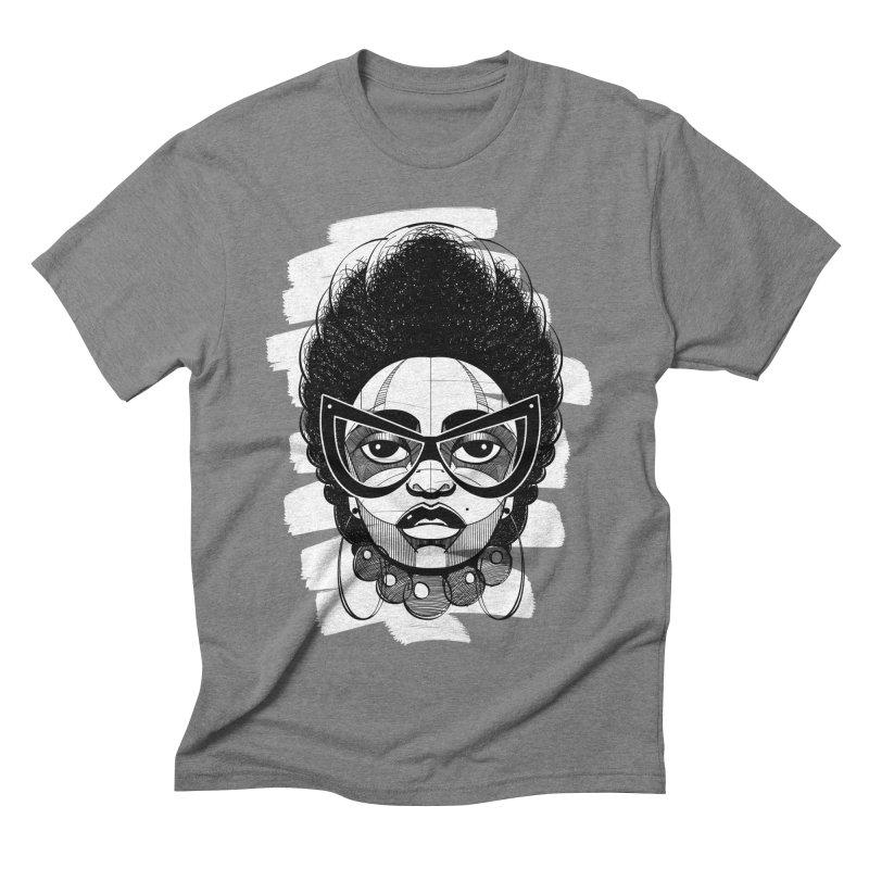 Indigo Men's Triblend T-shirt by udegbunamtbj's Artist Shop