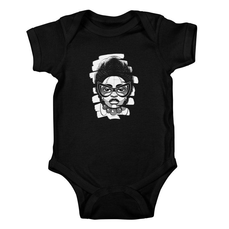 Indigo Kids Baby Bodysuit by udegbunamtbj's Artist Shop