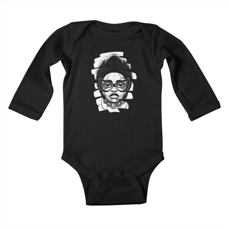 Indigo Kids Baby Longsleeve Bodysuit by udegbunamtbj's Artist Shop