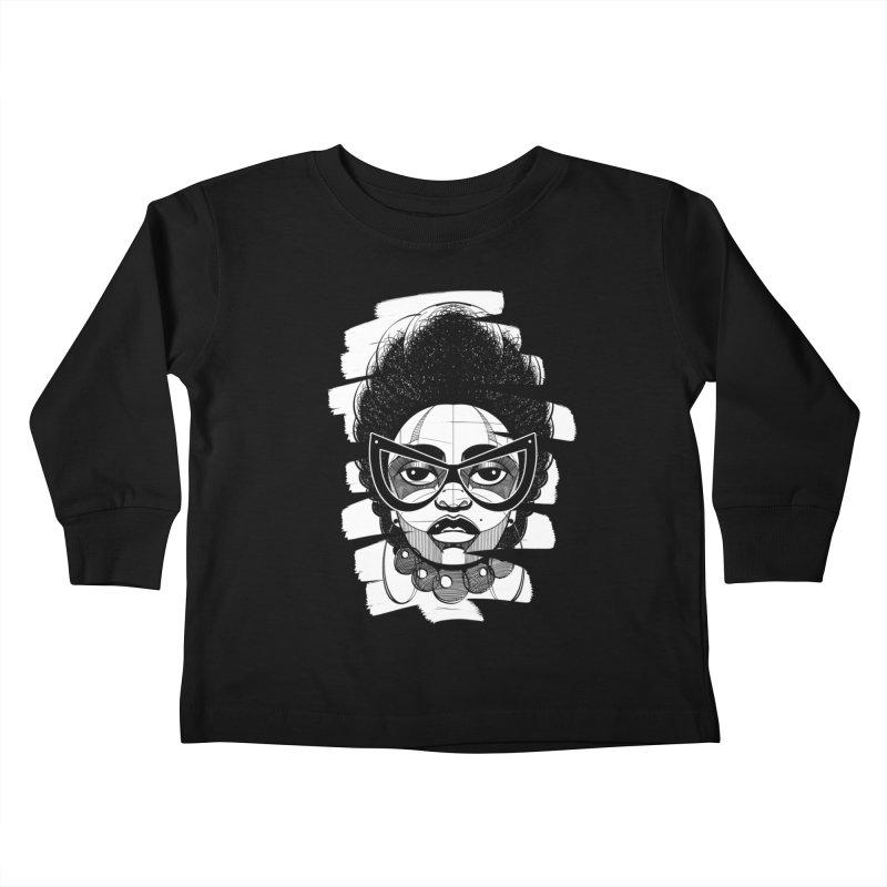 Indigo Kids Toddler Longsleeve T-Shirt by udegbunamtbj's Artist Shop