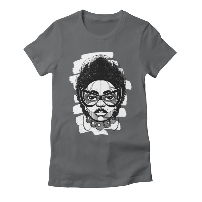 Indigo Women's Fitted T-Shirt by udegbunamtbj's Artist Shop