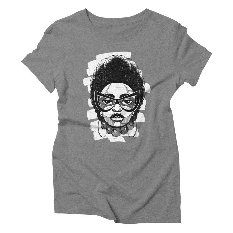 Indigo Women's Triblend T-shirt by udegbunamtbj's Artist Shop