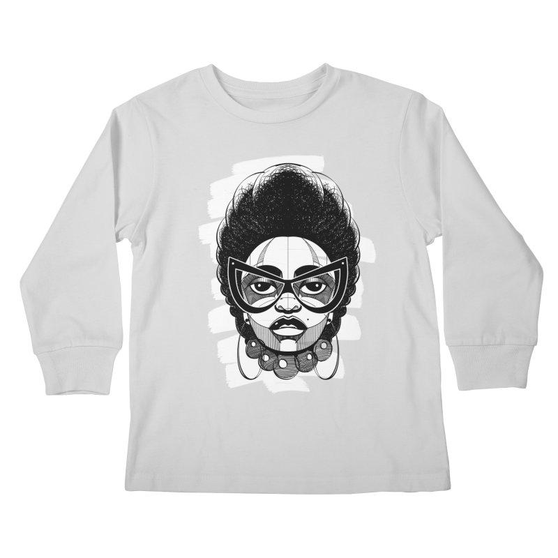 Indigo Kids Longsleeve T-Shirt by udegbunamtbj's Artist Shop