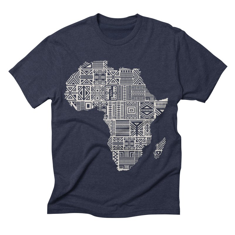 Wonderland  Men's Triblend T-shirt by udegbunamtbj's Artist Shop