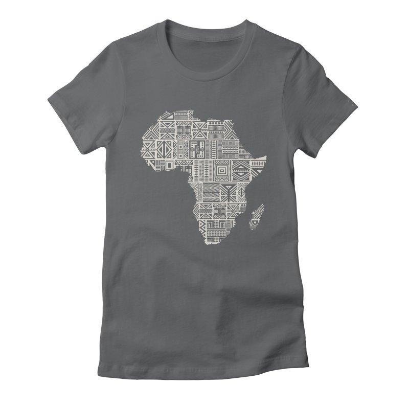 Wonderland  Women's Fitted T-Shirt by udegbunamtbj's Artist Shop