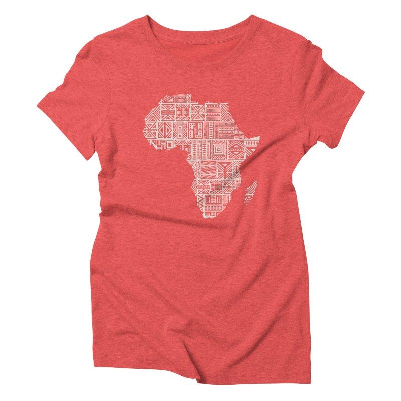 Wonderland  Women's Triblend T-shirt by udegbunamtbj's Artist Shop