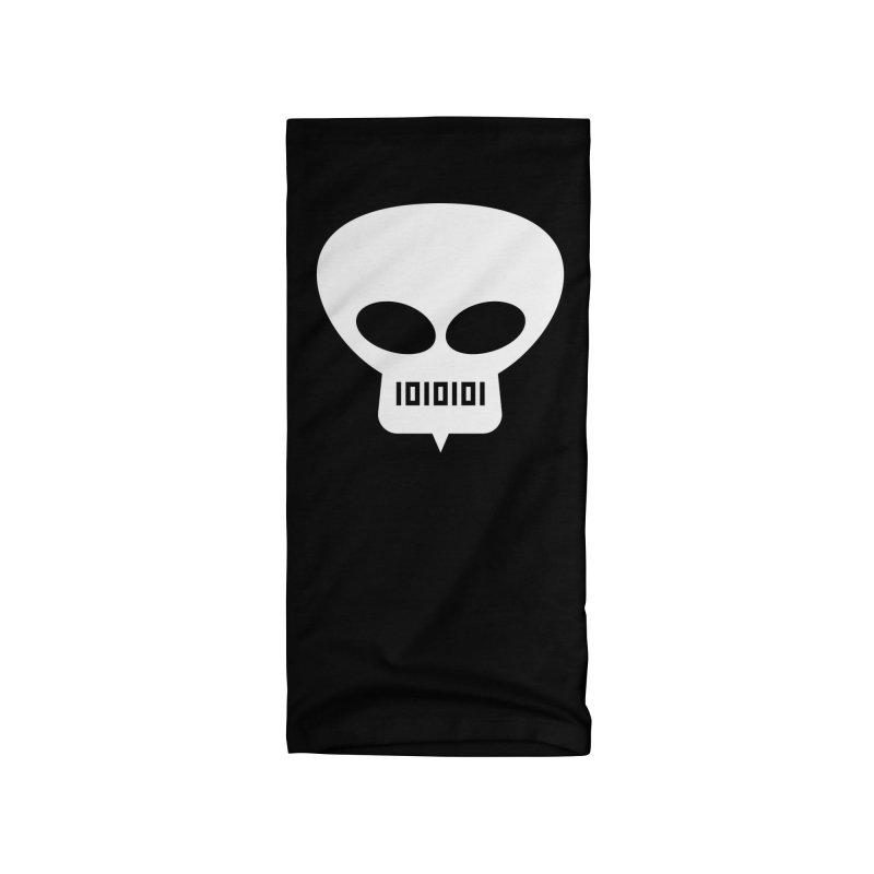Ugress Logo (White) Accessories Neck Gaiter by Ugress Merchandise