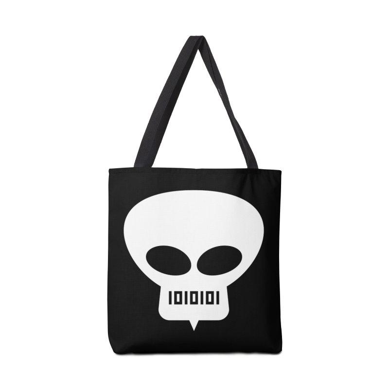 Ugress Logo (White) Accessories Bag by Ugress Merchandise