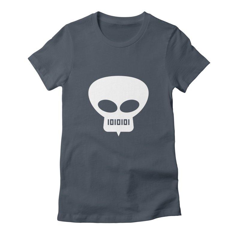 Ugress Logo (White) Women's T-Shirt by Ugress Merchandise