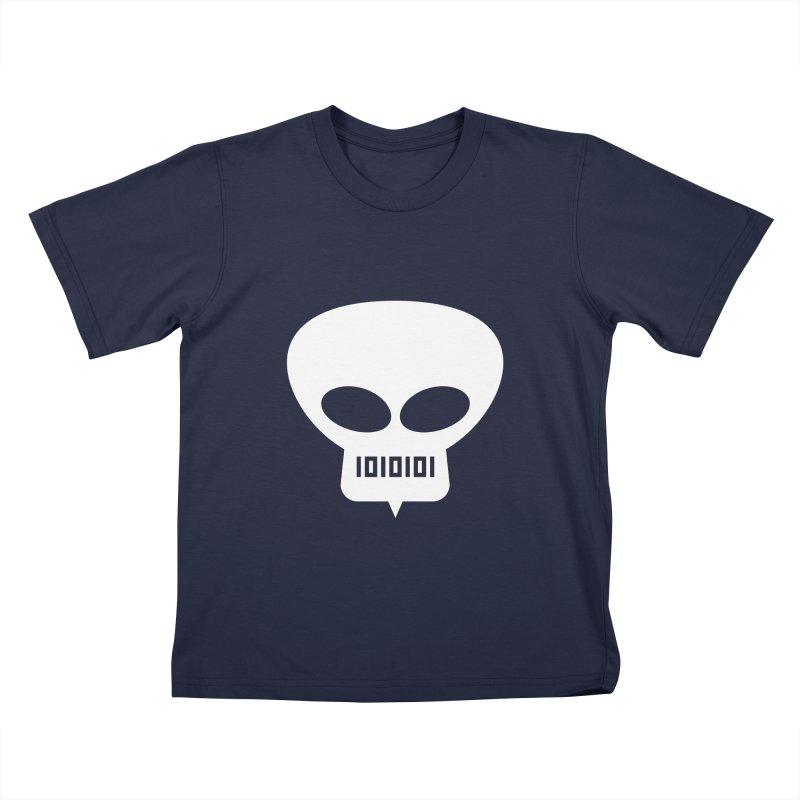 Ugress Logo (White) Kids T-Shirt by Ugress Merchandise