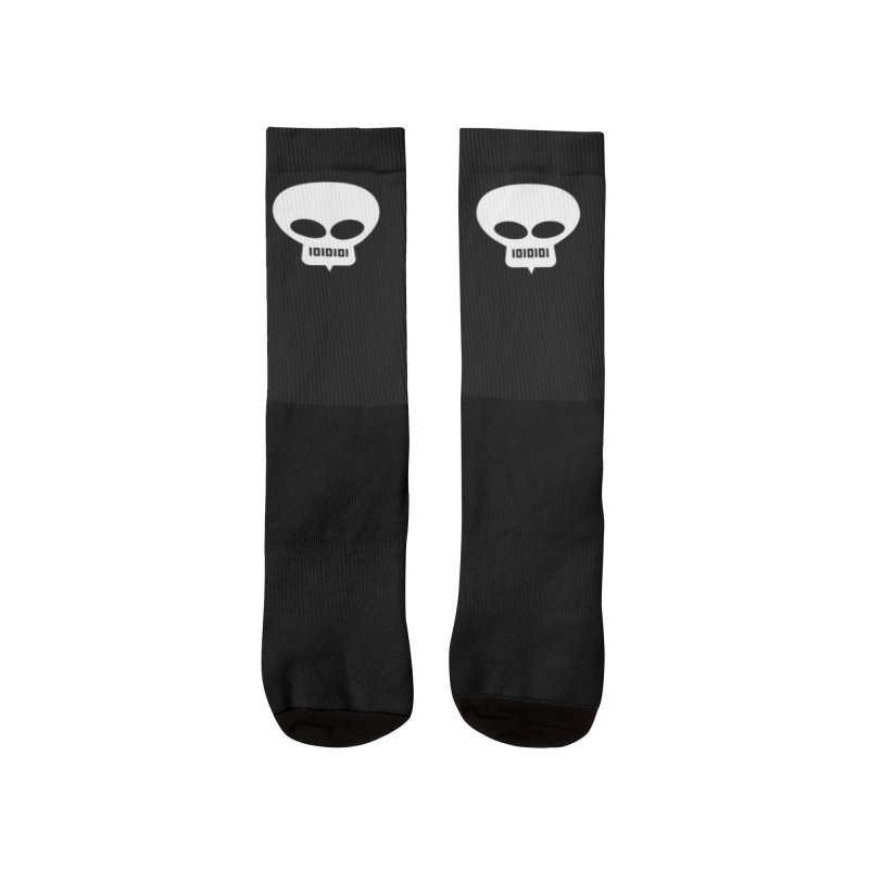 Ugress Logo (White) Men's Socks by Ugress Merchandise