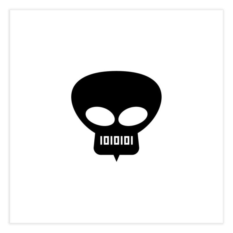 Ugress Logo (Black) Home Fine Art Print by Ugress Merchandise