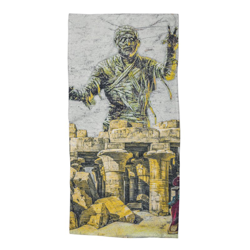 Curse Of The Cancelled Accessories Beach Towel by Ugress Merchandise