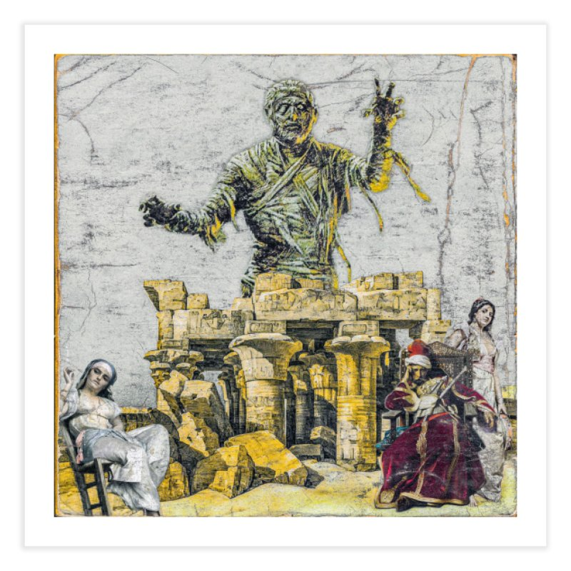 Curse Of The Cancelled Home Fine Art Print by Ugress Merchandise