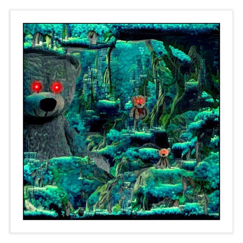The Teddy Bear's Picnic Home Fine Art Print by Ugress Merchandise