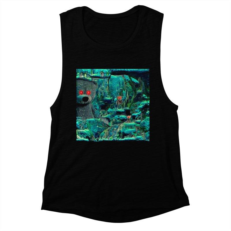 The Teddy Bear's Picnic Women's Tank by Ugress Merchandise