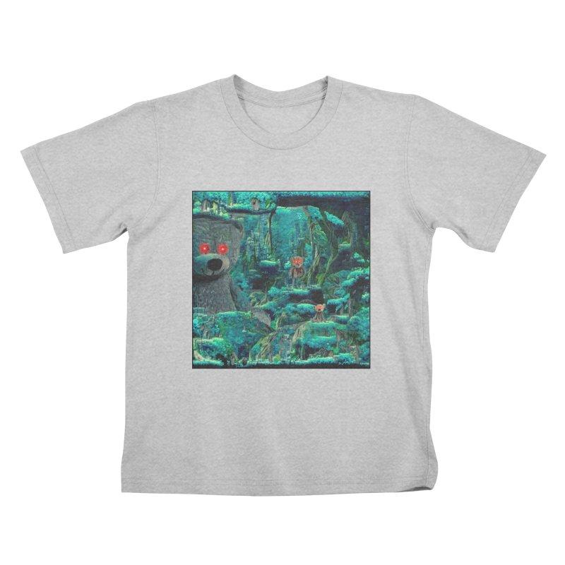 The Teddy Bear's Picnic Kids T-Shirt by Ugress Merchandise