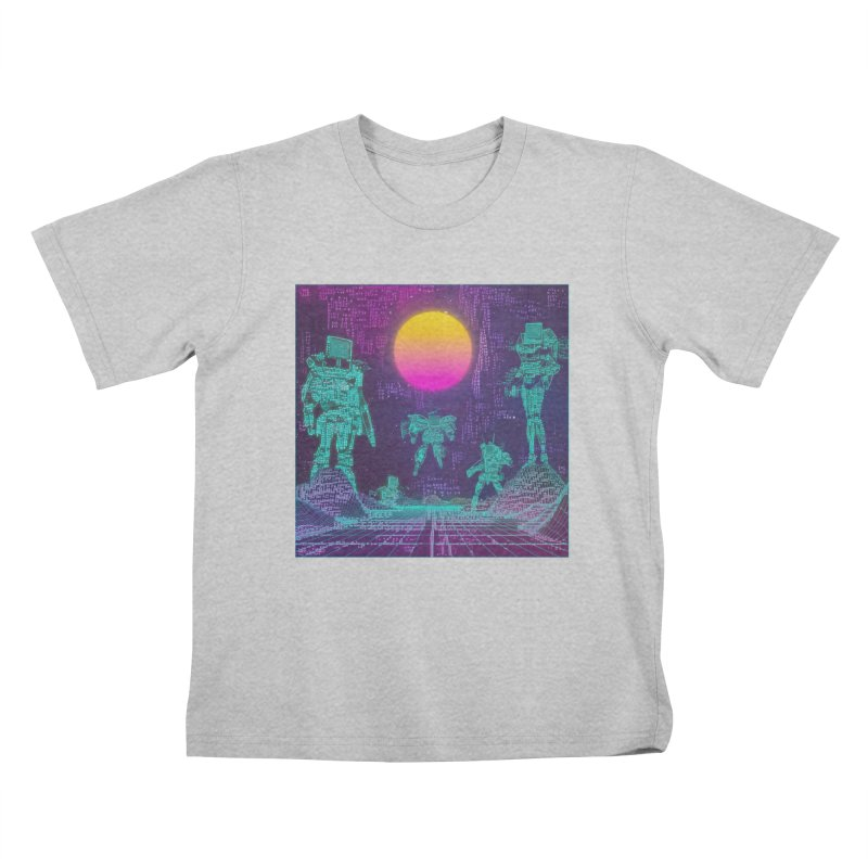 Static Troopers Kids T-Shirt by Ugress Merchandise