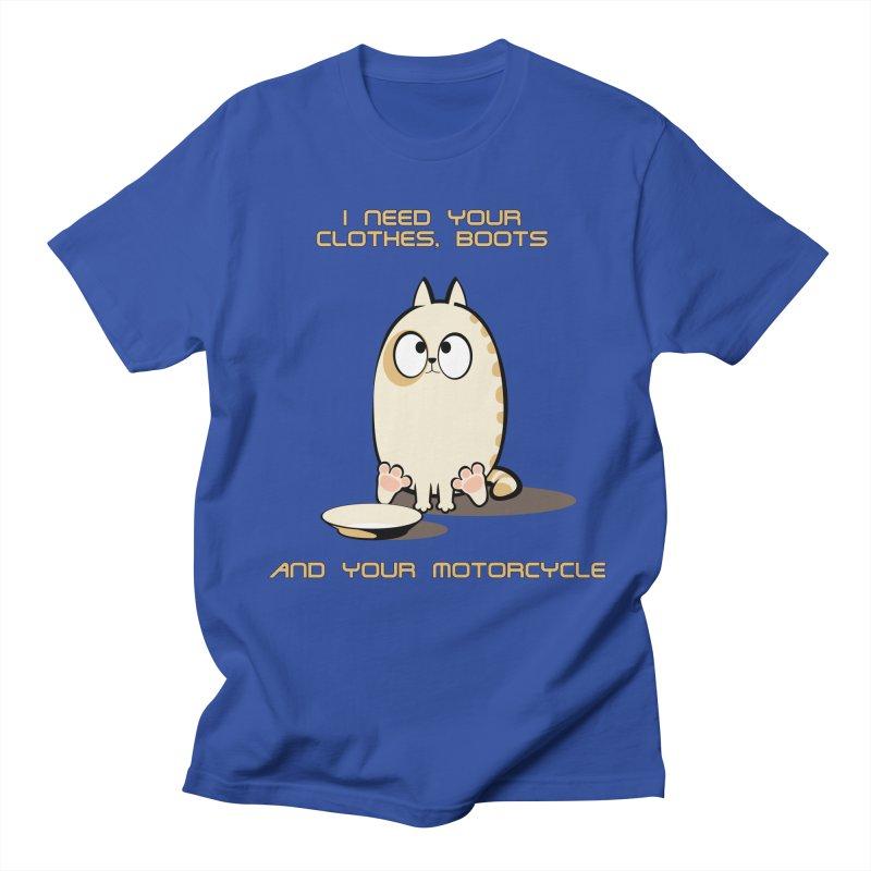 Terminator Cat Women's Unisex T-Shirt by LookAway Design Shop