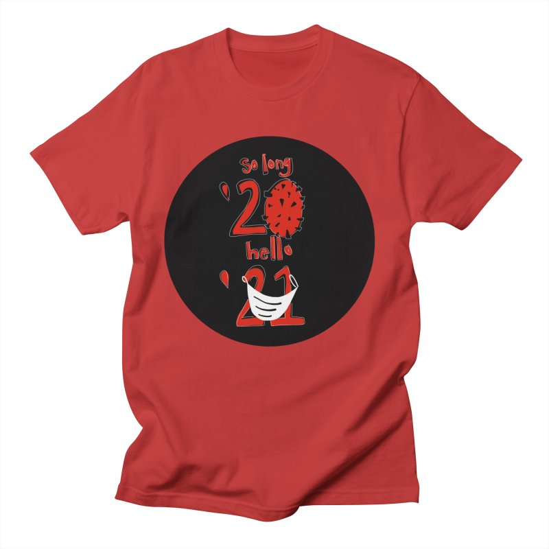 Black Red So Long Circle Men's T-Shirt by The Uh Ohs Fantastic Swag Spot of Legends And Yon