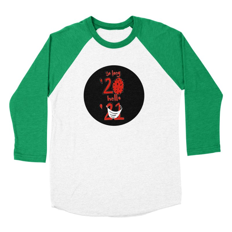 Black Red So Long Circle Women's Longsleeve T-Shirt by The Uh Ohs Fantastic Swag Spot of Legends And Yon