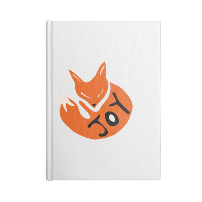 Joy Fox Accessories Notebook by The Uh Ohs Fantastic Swag Spot of Legends And Yon